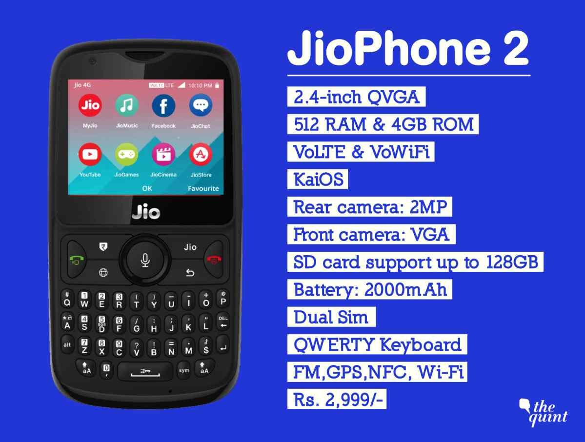 648accdb5 Reliance Jio announces JioPhone 2 flash sale from Thursday - Kashmir Age